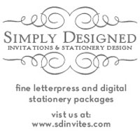 Simply Designed Invitations