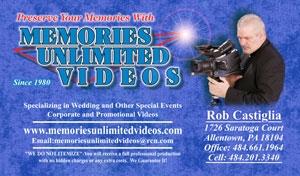 Memories Unlimited Videos, Inc.