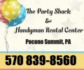 The Party Shack & Handyman Rental Center