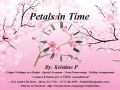 Petals in Time by Kristine P