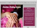Christian Wedding Services